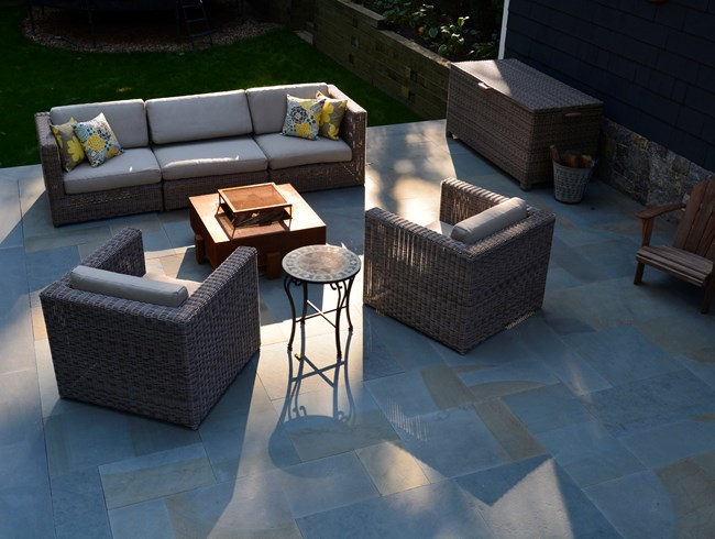 chat group outdoor furniture susan cohan gardens_10701 - Garden Design Trends 2017